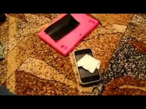 Как правильно тонировать телефон (Iphone )