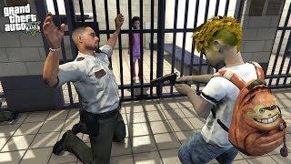 10 YEAR OLD BOYFRIEND BREAKS GIRLFRIEND OUT OF JAIL IN GTA 5!!! (GTA 5 REAL LIFE MOD)