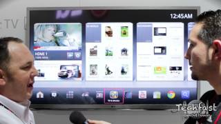 New LG Google TV_ Hands-On Tour & Demo