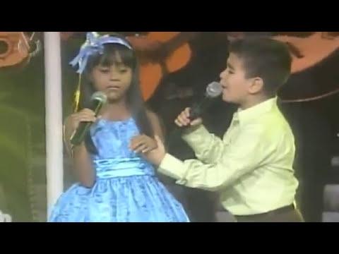Lucia Valetina con el Potrillo Perdoname, Olvidalo yo si canto