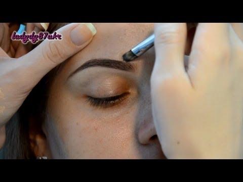 Видео как сделать брови