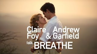Claire Foy & Andrew Garfield interviewed by Simon Mayo