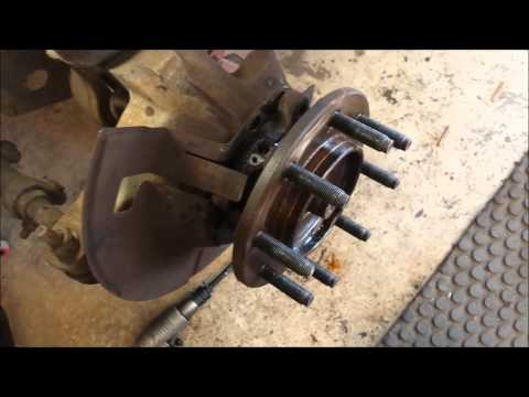 2007 Dodge ram 2500 front hub bearing replacement