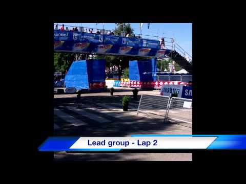 Men's ITU WCS Triathlon In Madrid Spain