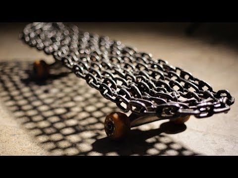 SUPER HEAVY WELDED CHAIN LINK SKATEBOARD | YOU MAKE IT WE SKATE IT EP 148