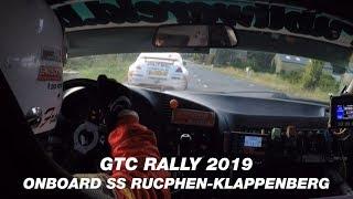 ONBOARD GTC Rally 2019 | BMW M3 E36 Franky Boulat & Peggy de Busser