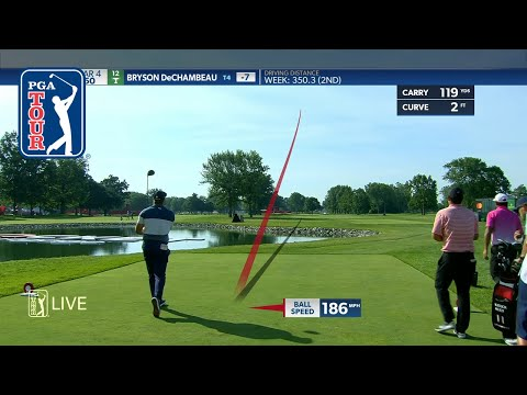 Bubba Watson and Bryson DeChambeau hit monster drives at Rocket Mortgage