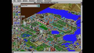 Classic Games 2: SimCity 2000 (New YouTube City Pt.6) Nothing Happend To My City