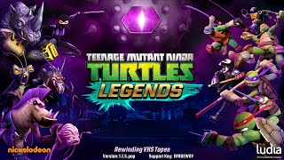 Teenage Mutant Ninja Turtles: Legends (by Ludia) - iOS / Android - HD Gameplay Trailer