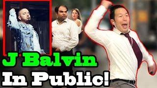 J Balvin Zion Lennox 34 No Es Justo 34 Singing In Public