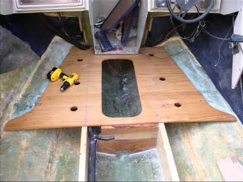 Boat Floor Replacement Youtube