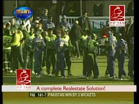 Pakistan vs Sri Lanka Last Over(20/20 Canada) Oct 11,08 - YouTube