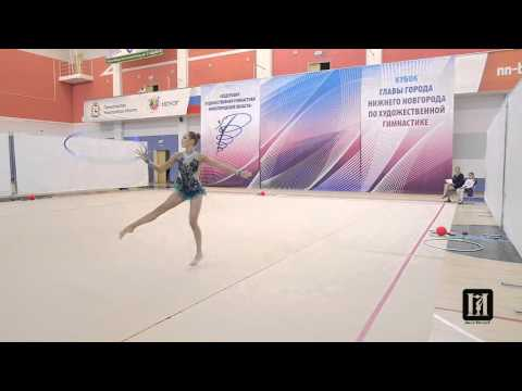 АРИНА СУТЯГИНА / обруч /rhythmic gymnastics