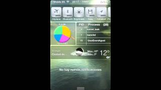 Gadgets para notification center iOS 5