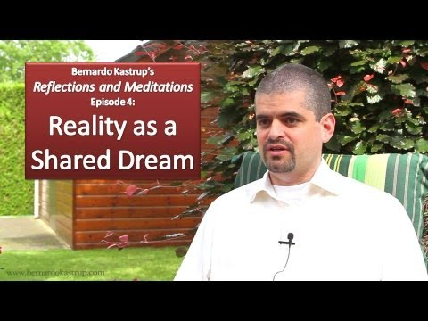 Reflections and Meditations, episode 4: Reality as a Shared Dream (Bernardo Kastrup)