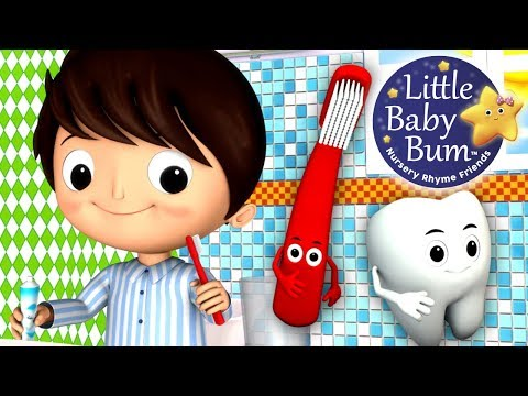 This Is The Way We Brush Our Teeth | Nursery Rhymes | Hd Version From Littlebabybum video