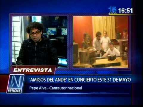Pepe Alva en N Noticias CANAL N con Mario Bryce