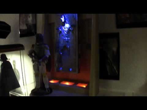 Star wars sideshow Han Solo in carbonite 1/6 scale custom pt 2