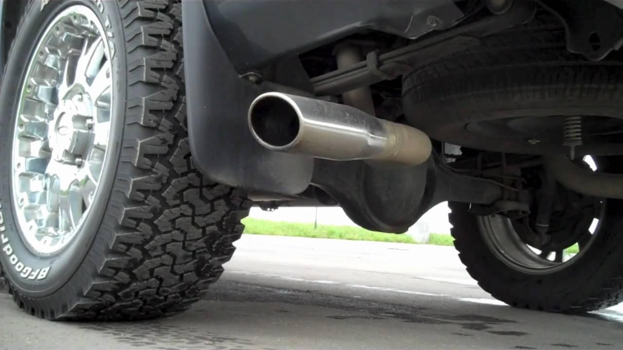2007 Toyota Tundra 5 7 Trd Exhaust Youtube