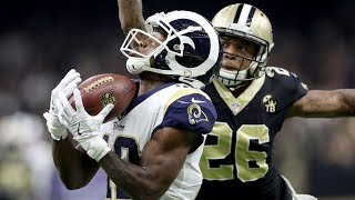 Rams vs. Saints 2018 NFC Championship Full Game Highlights | NFL