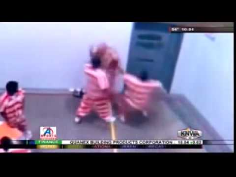 Caught On Camera: Child Molester Gets Beaten Terribly In Jail video