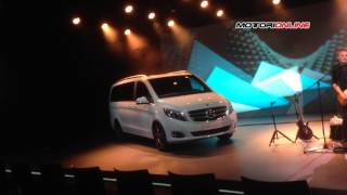 Mercedes Classe V MY 2014, debutto a Monaco – Mercedes V-Class MY 2014, official debut in Munich