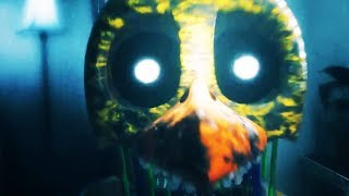 """The Joy Of Creation: Story Mode - Night 2 - Chica Jumpscare & """"Come Back"""" Game Over Cutscene"""