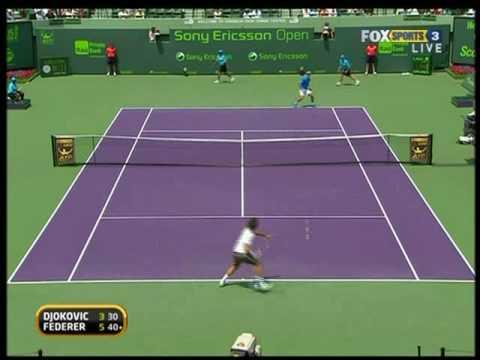 Miami 09: SF Roger v Djokovic (Highlights Pt 1)