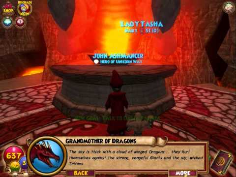 Wizard 101 walkthrough part 51: First Teacher Quest