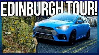 Forza Horizon 4 | Map Tour! Edinburgh, Motorway, Beach Gameplay and More!