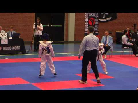 Daniel Brown Scorpion Taekwondo - Swedish Open 2013 -30kg video