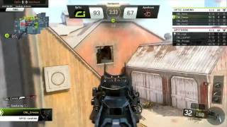 OpTic Gaming VS Apotheon eSports Game 1 - Call Of Duty World League Qualifier Black Ops 3