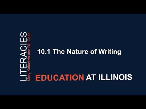 10.1 The Nature of Writing