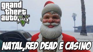 GTA V - DLC de Natal CONFIRMADO, novo Red Dead? Casino?