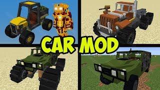 Minecraft CARS MOD 1.14.1 - ZCBM CARS (Spotlight)