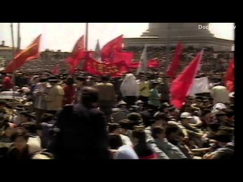Student protest China: Tiananmen Square 1989