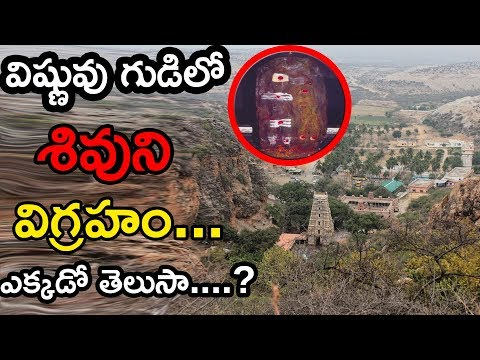 Lord Shiva Idol In Lord Vishnu Temple || Indian Temple Mysteries || Telugu Small Tv