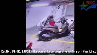 Cất xe trong nhà có người trông rồi còn bị trộm