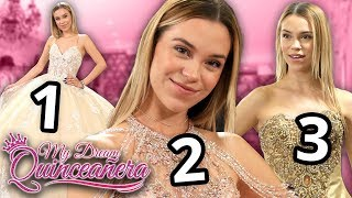 Three Quince Dresses | My Dream Quinceañera - Anika EP 3
