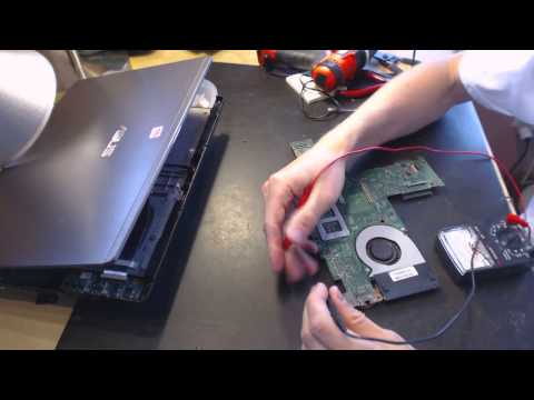 Asus U47A u47a-rs51 Laptop Power Jack Repair loose socket input pin connector repair