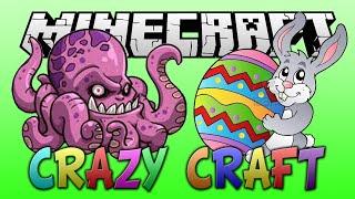 "MINECRAFT: CRAZY CRAFT 2.0 #30 ""EASTER BUNNY KRAKEN FIGHT!!"" (Crazy Craft Mod)"