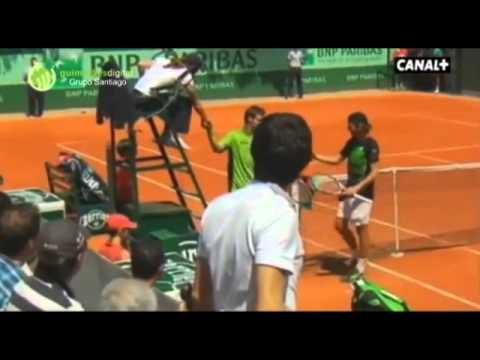 Espanhol provocou e insultou João Sousa e o público português em Roland Garros