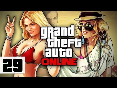 Grand Theft Auto Online - Gameplay - Part 29 - Knocked Down A Mountain