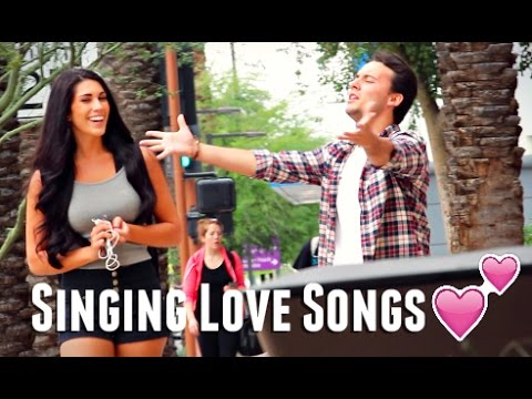 Singing Love Songs To Girls! (Acapella)