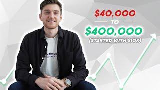 How I Turned $40k Into $400k! - [Beginner Real Estate Investing]