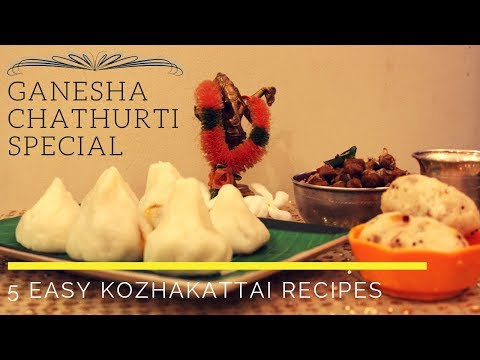 5 Easy Recipes for Vinayagar Chathurthi/Ganesha Festival recipe/Sivakasi Samayal/Video - 565