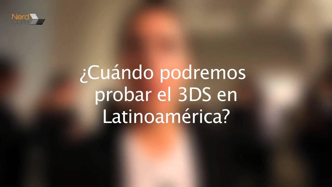 Entrevista a Eva Barranco sobre el Nintendo 3DS
