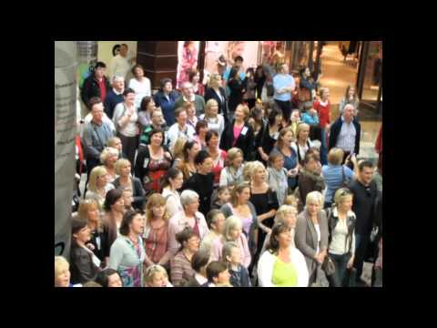 Hallelujah Chorus Dundrum Town Centre - Flash Mob