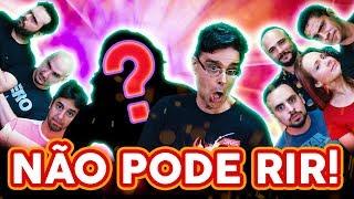 NÃO PODE RIR! - TODOS contra GUILHERME BRIGGS! + Convidado SURPRESA!