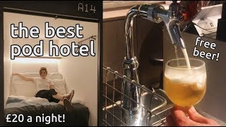 best pod hotel in kyoto - and cheap!   the millennials review   japan vlog 6